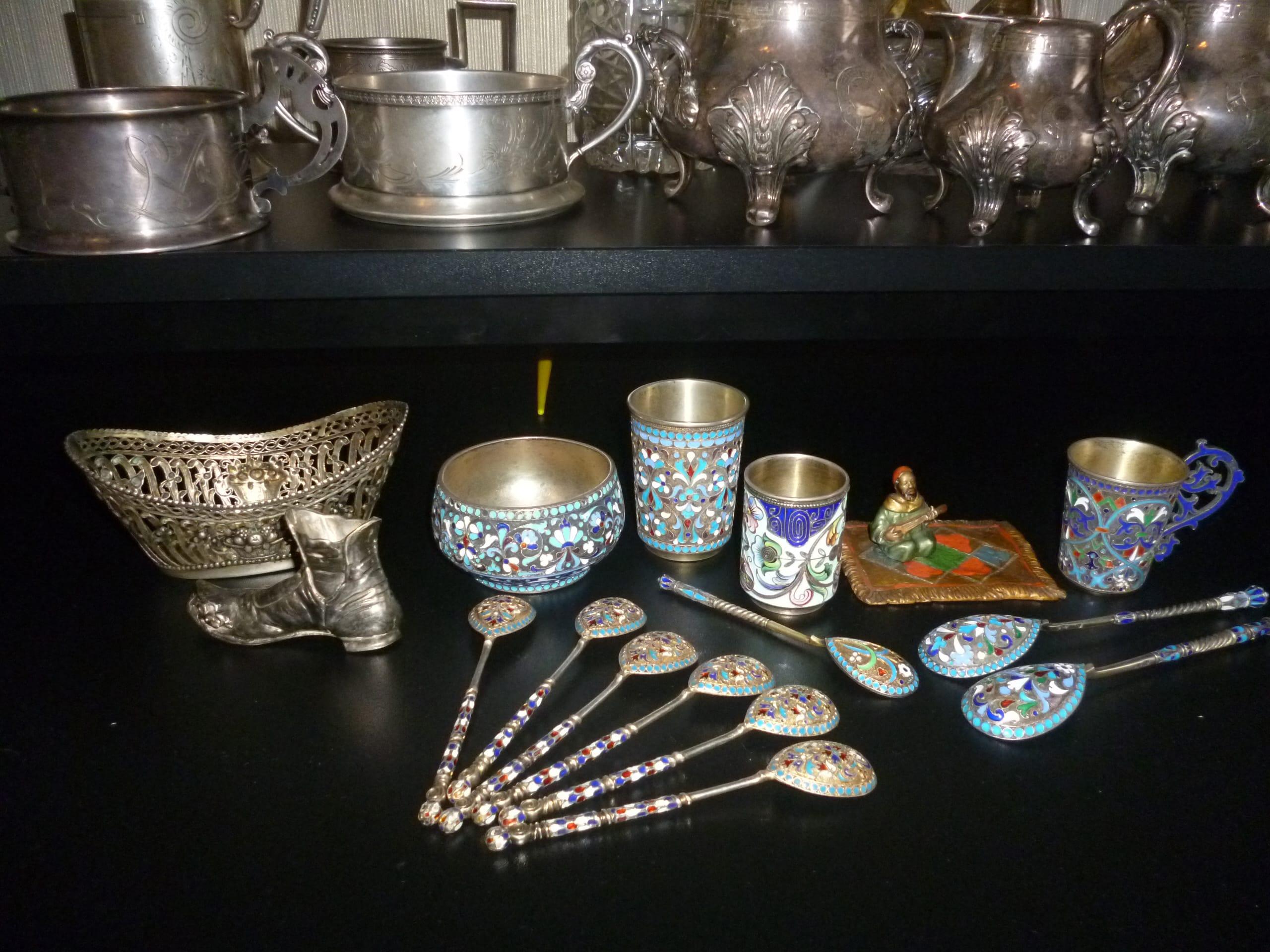 Скупка серебряных изделий