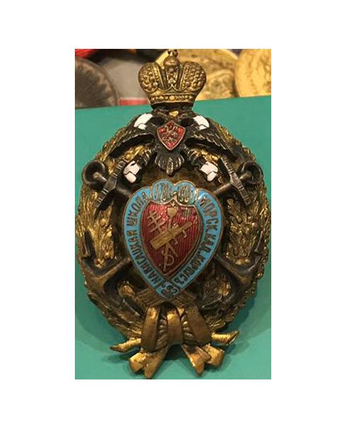 Полковой знак Морского кадетского корпуса