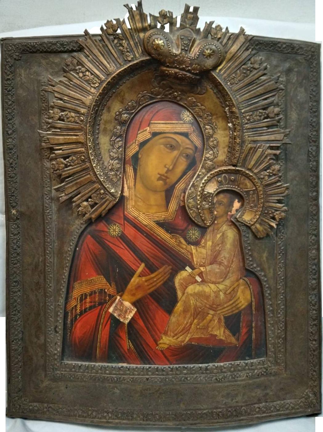 Тихвинская присвятая Богородица